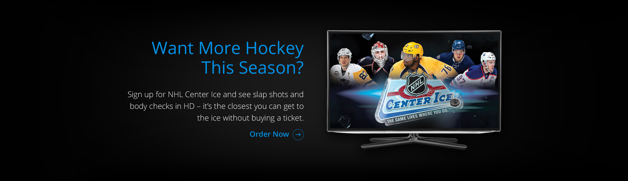 Want More Hockey This Season? Click here!