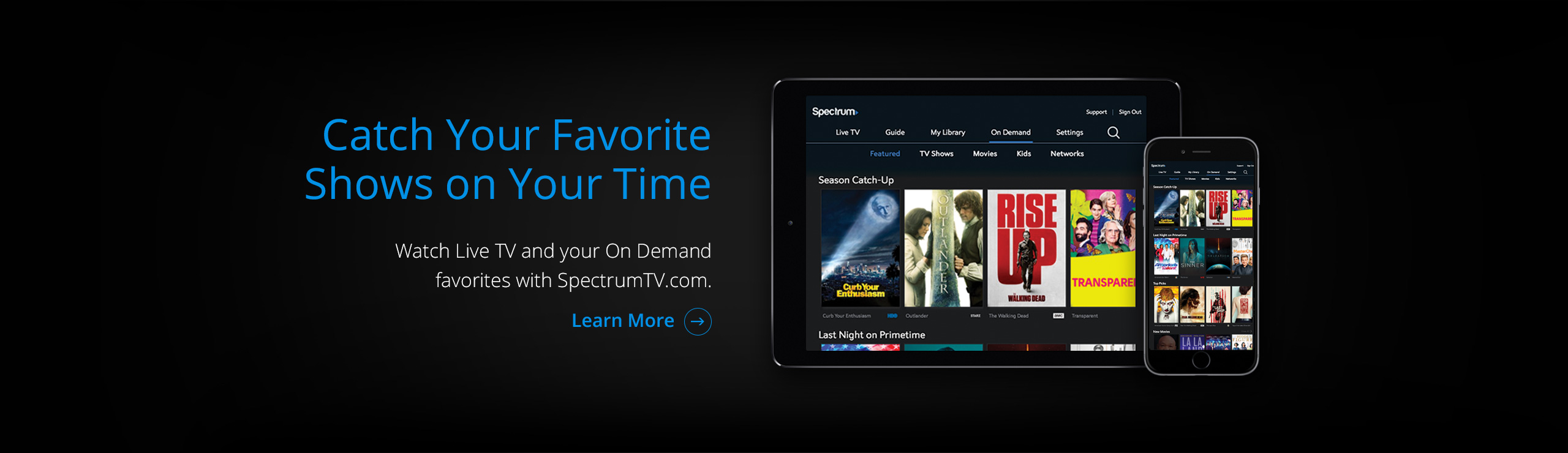 Catch Your Favorite Shows on Your Time! Click here!