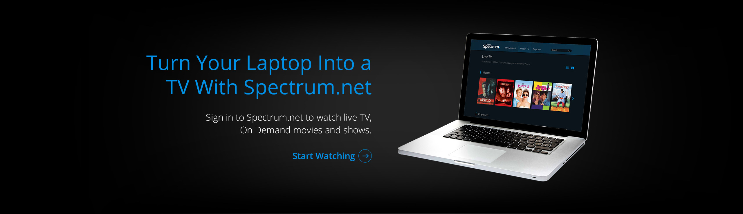 Watch Live TV on Spectrum.net