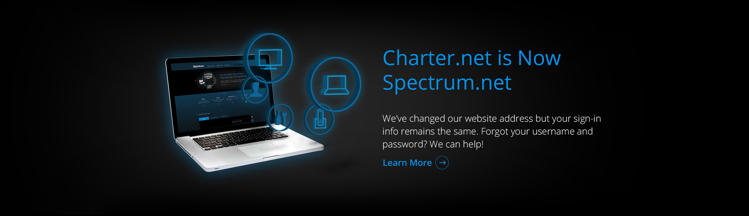Spectrum.net Launch