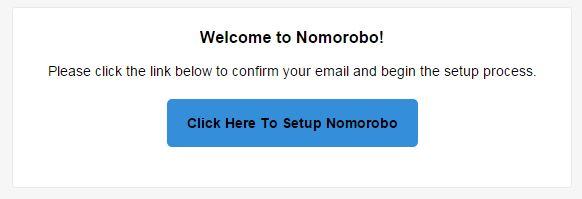 Nomorobo Email Link