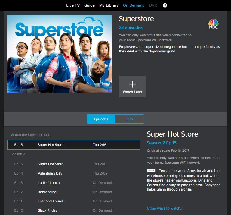 Other Ways to Watch On Demand for SpectrumTV.com