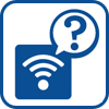 Wireless coneection question icon