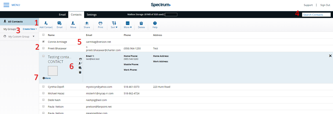 Explore Spectrum Email | Spectrum Support