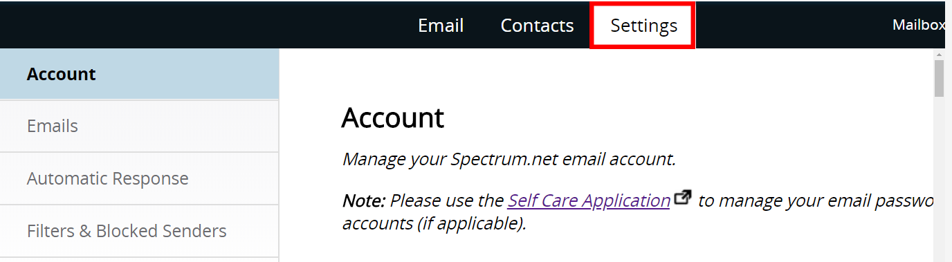 Explore Spectrum Email | Spectrum Support
