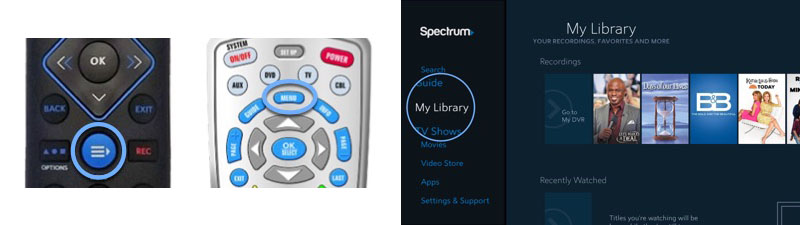 Spectrum Guide DVR: Playback | Spectrum Support