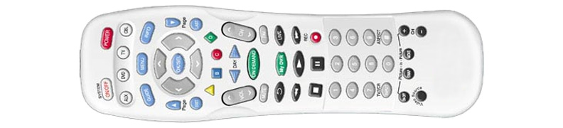 Spectrum Remote Controls - Universal UR5-8400A | Spectrum Support