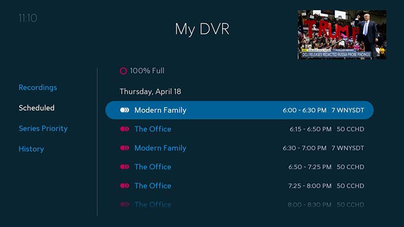 Spectrum Guide DVR: Recording | Spectrum Support