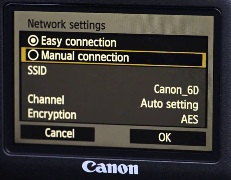 Canon Digital Camera WiFi Connection | Spectrum Support