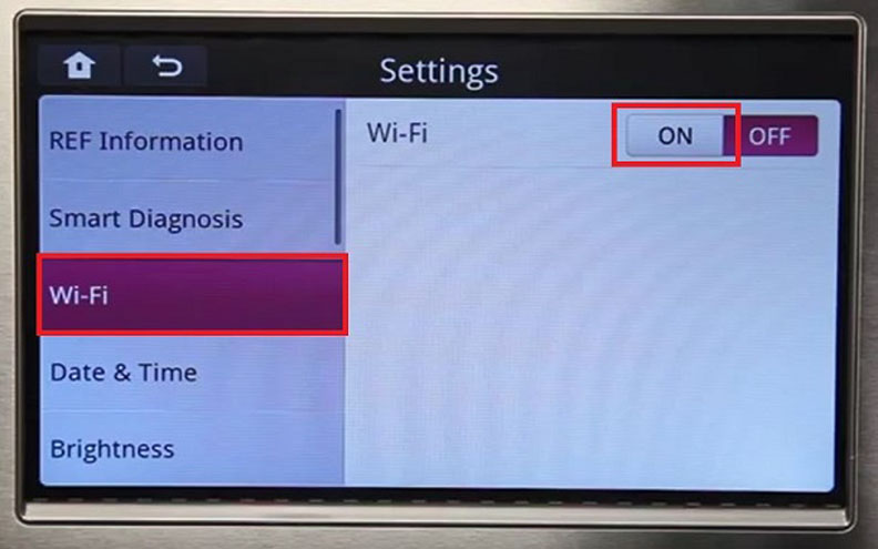 LG Smart Fridge WiFi Connection | Spectrum Support