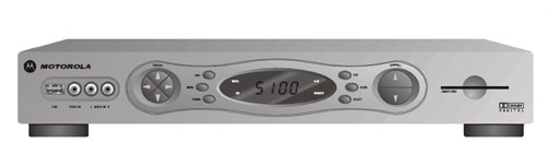 Motorola DCT 5100HD