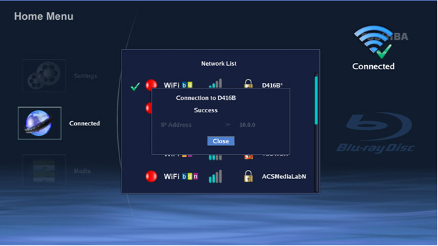 how to connect toshiba tv to wifi network