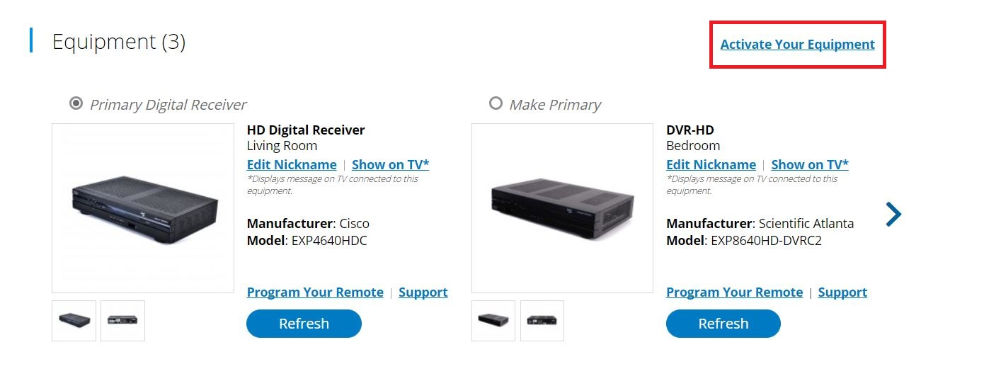 Spectrum.net TV Services & Equipment