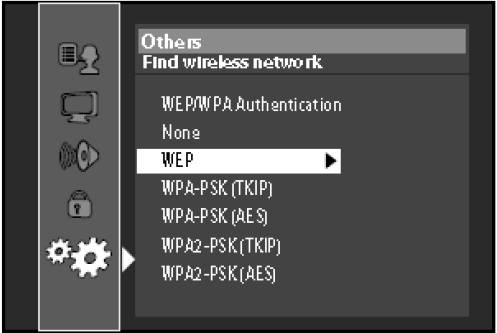 List of wireless security types