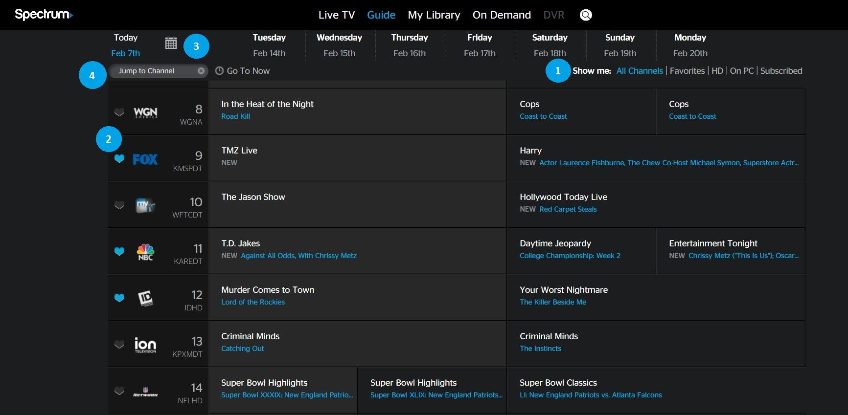 spectrum net explore spectrumtv com rh spectrum net Direct TV Channel Guide Charter Channel Guide