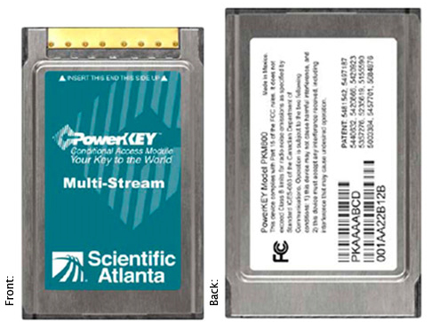 Scientific Atlanta Cablecard